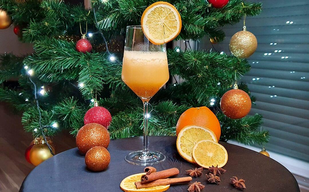 Gin s svežim pomarančnim sokom