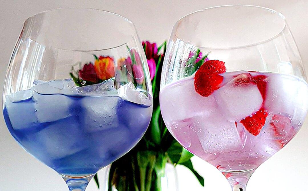 Kako lahko gin spremeni barvo?