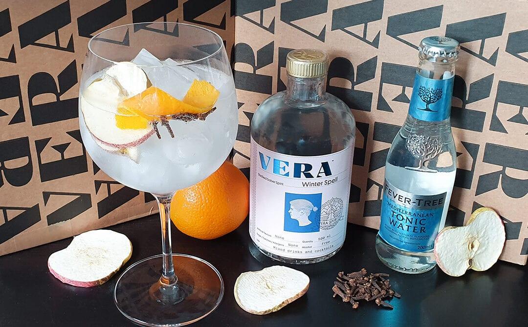 Brezalkoholni gin tonik v.1